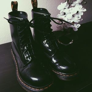 Doc Marten's 1460 Patent Leather Boots